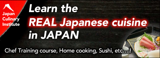Japan Culinary Institute-Learn the real japanese cuisine in japan