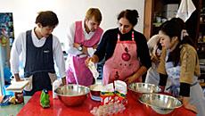 イタリア家庭料理の先生の自宅でランチ