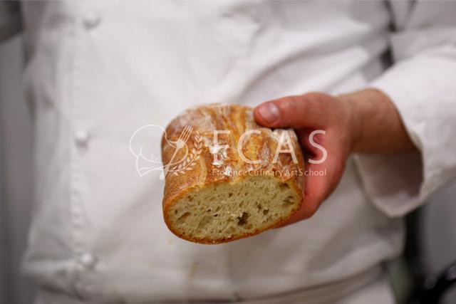 "Italian Cuisine Professional Chef Training Course 2016 Spring - Lesson #26 ""Bread"""