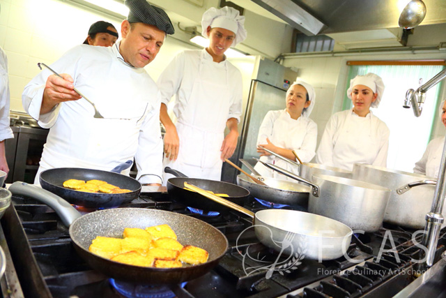 """Italian Cuisine Professional Chef Training Course 2016 Fall – Lesson #9 """"Party Dishes"""""""