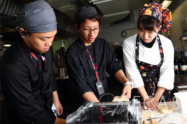 シェフ養成 2016秋 14.野菜料理(ベジタリアン料理)