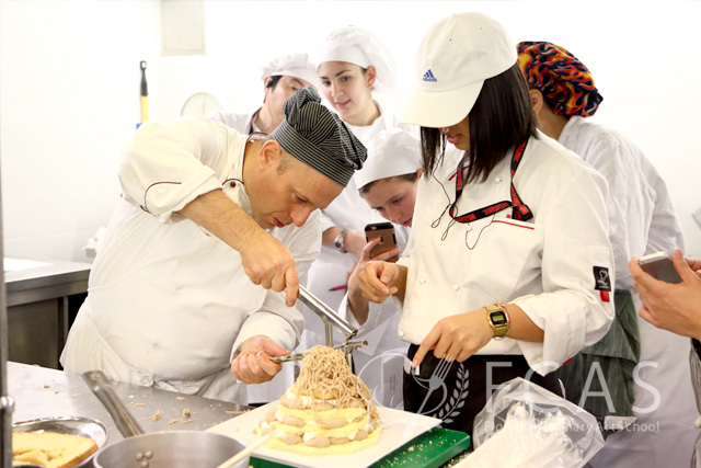 "Italian Cuisine Professional Chef Training Course 2016 Fall – Lesson #20 ""Italian Desserts and Pork Dishes"""