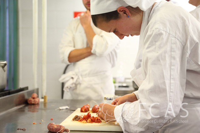 """Italian Cuisine Professional Chef Training Course 2016 Fall – Lesson #21 """"Sausage (Salsiccia) Making and Dishes"""""""