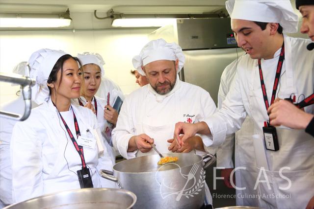 "Italian Cuisine Professional Chef Training Course 2017 Winter – Lesson #1 ""Tuscan Cuisine 1"""