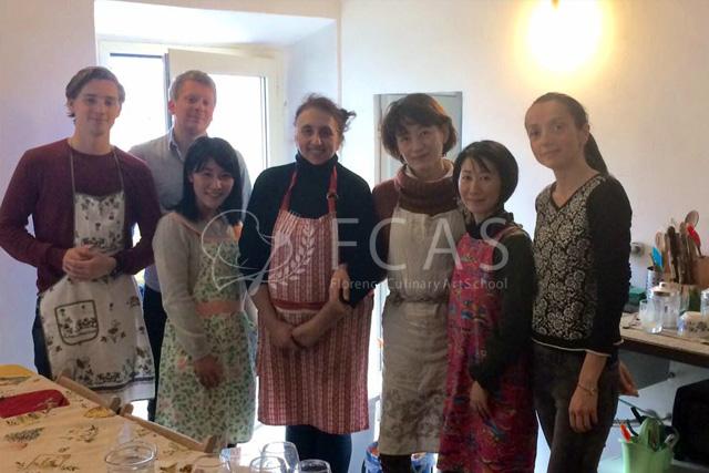 イタリア家庭料理留学