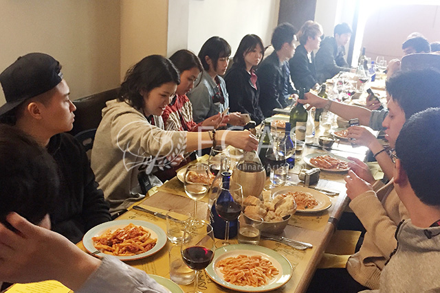 """ITALIAN CUISINE PROFESSIONAL CHEF TRAINING COURSE 2017 SPRING – LESSON #1 """"City tour / Dinner party"""""""