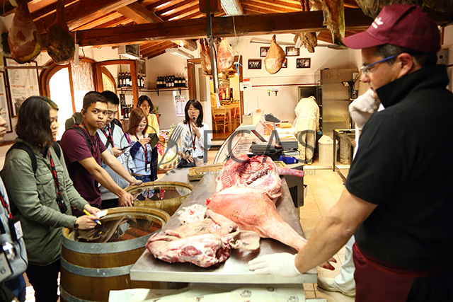 LESSON #9 Salami factory and cheese factory